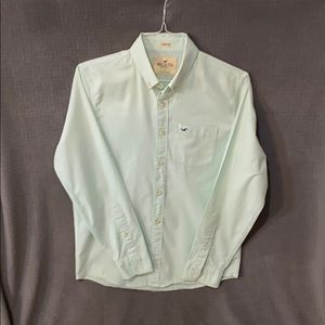 Hollister oxford button up